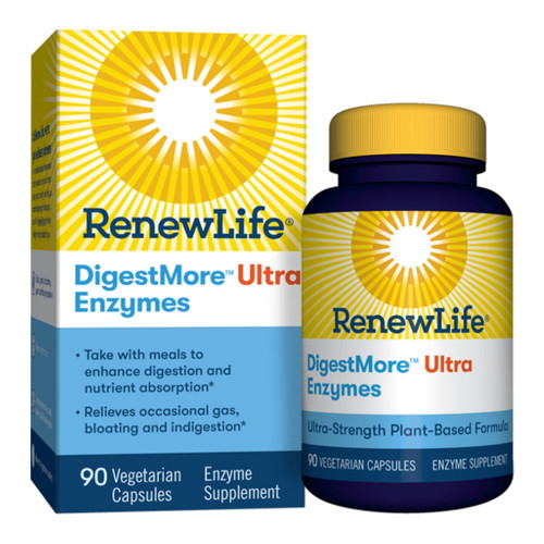 Renew Life DigestMore Ultra Enzymes - 90 capsules