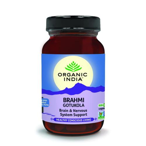 Organic India Brahmi - 90 capsules