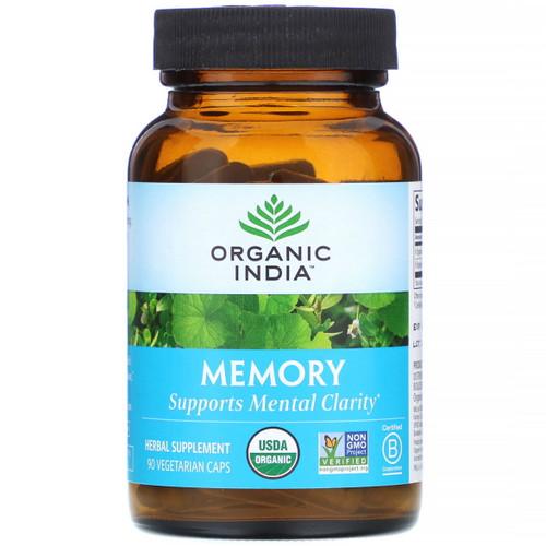 Organic India Memory - 90 capsules