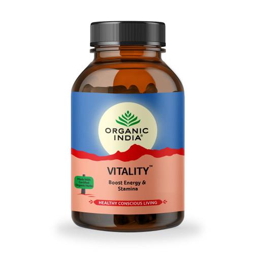 Organic India Vitality - 90 capsules