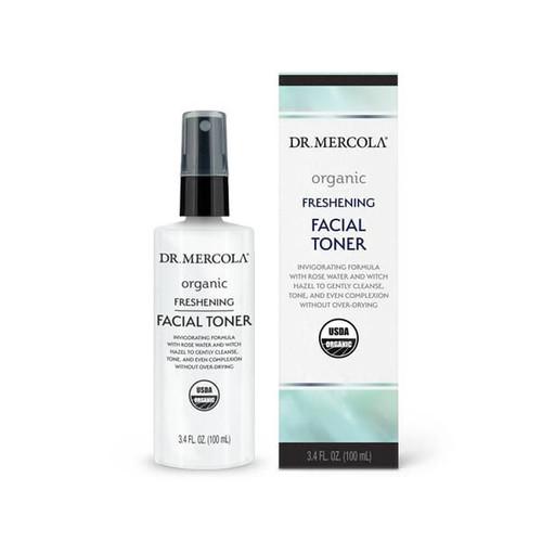 Dr. Mercola Healthy Skin Organic Freshening Facial Toner - 100ml