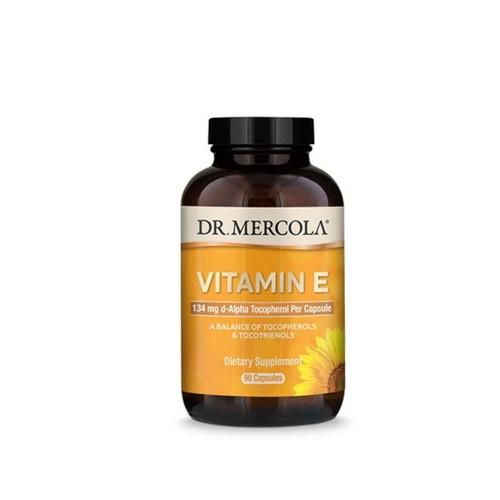 Dr Mercola Vitamin E - 90 capsules