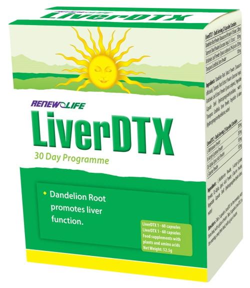 Renew Life LiverDTX - 30 Day Programme