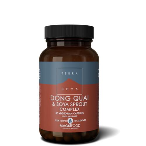 Terranova Dong Quai & Soya Sprout Complex - 50 capsules