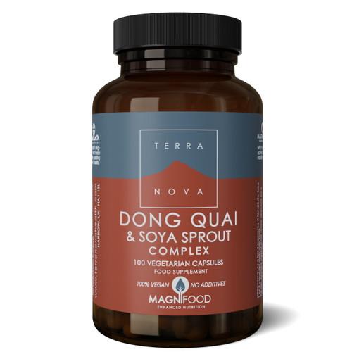 Terranova Dong Quai & Soya Sprout Complex - 100 capsules