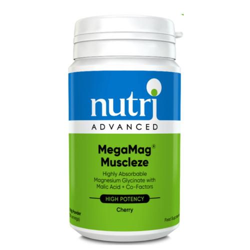 Nutri Advanced MegaMag Muscleze  Cherry- 162g