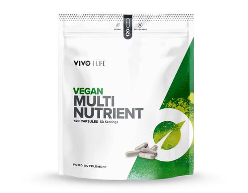 Vivo Life Vegan Multinutrient & Mineral Supplement - 120 capsules
