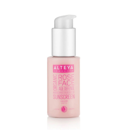 Alteya Organic Sunscreen Rose Face Cream SPF30 - 50ml