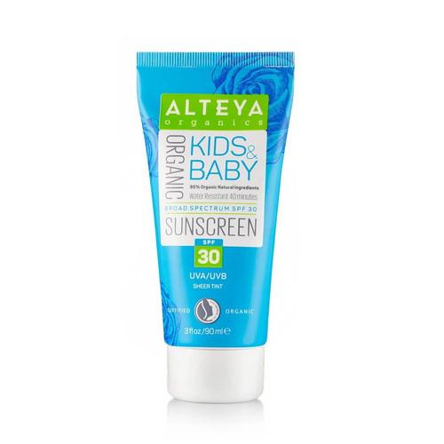 Alteya Organic Sunscreen Kids & Baby SPF30 - 90ml