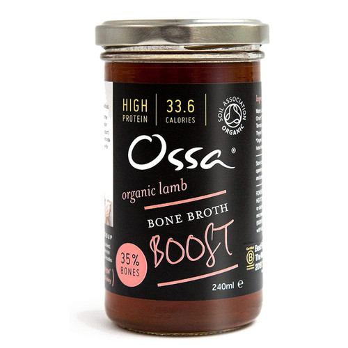 Ossa Organic Lamb Bone Broth Boost - 240ml