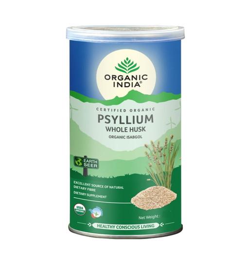 Organic India Whole Husk Psyllium - 340g