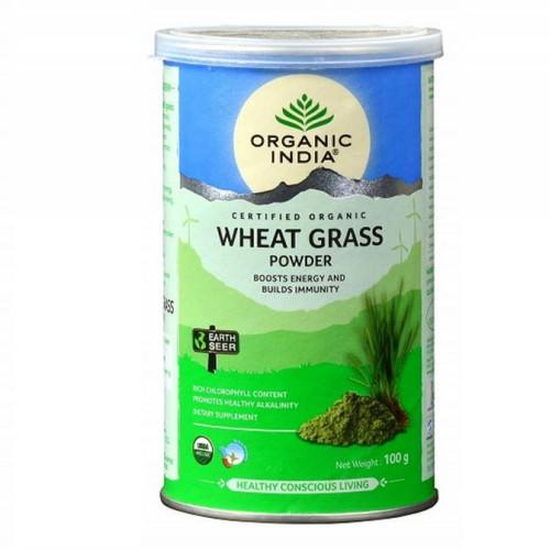 Organic India Wheat Grass Powder - 100g