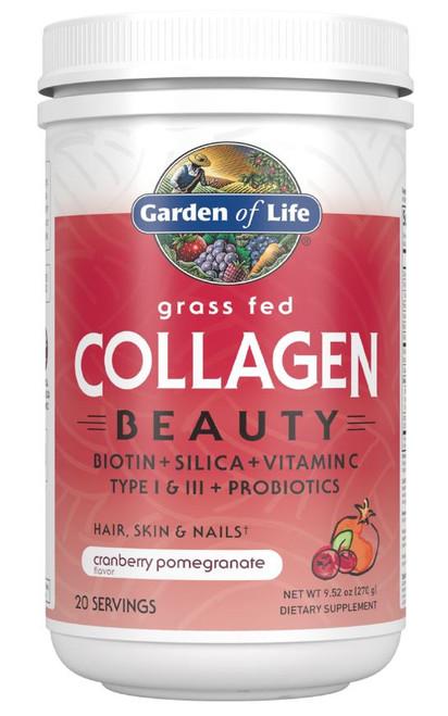 Garden of Life Collagen Beauty Cranberry Pomegranate - 270g