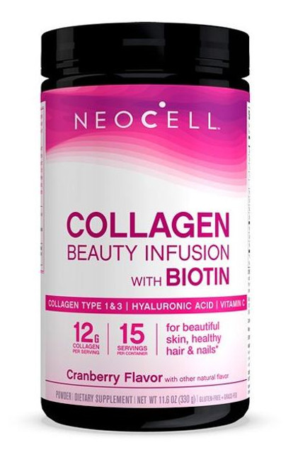 Neocell Beauty Infusion Cranberry Drink Mix - 330g