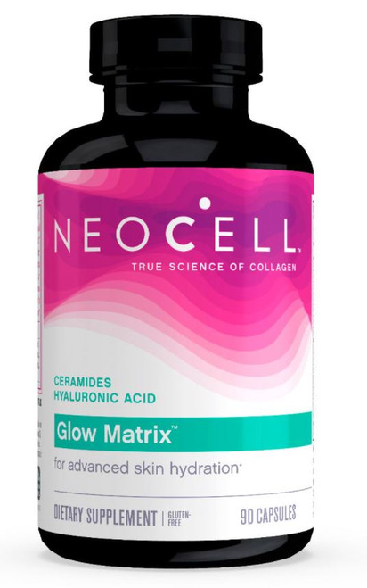 Neocell Glow Matrix with Ceramides & Hyaluronic Acid - 90 Capsules