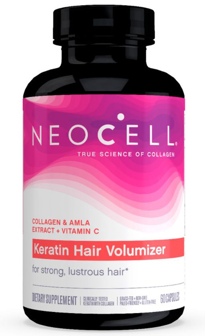 Neocell Keratin Hair Volumizer - 60 Capsules