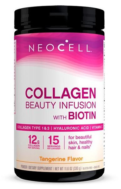 Neocell Beauty Infusion Tangerine Drink Mix - 330g