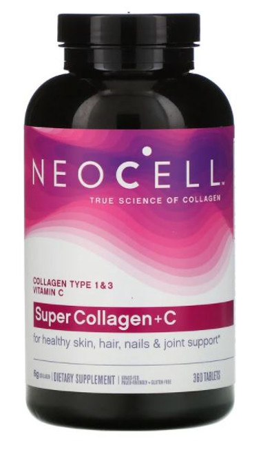 Neocell Super Collagen  + Vitamin C with Biotin - 360 Tablets
