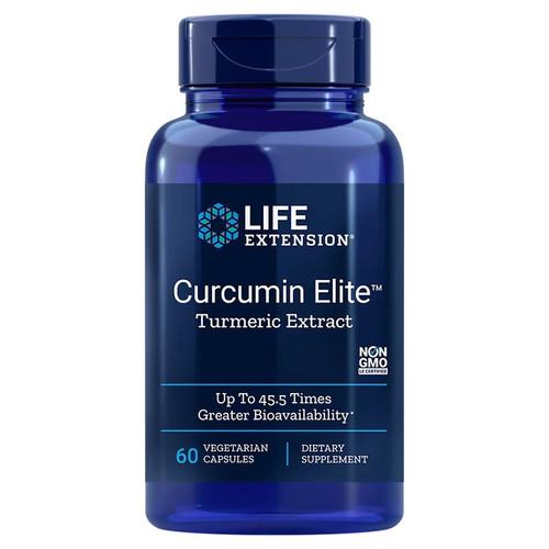Life Extension Curcumin Elite Turmeric Extract - 60 capsules