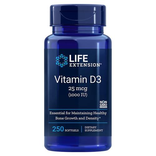 Life Extension Vitamin D3 1000iu - 250 softgels