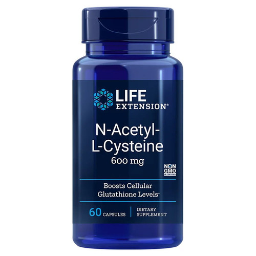 Life Extension N-Acetyl-L-Cysteine - 60 capsules