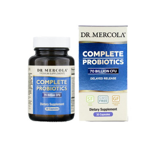Dr Mercola Complete Probiotics (70 Billion CFU) - 30 capsules