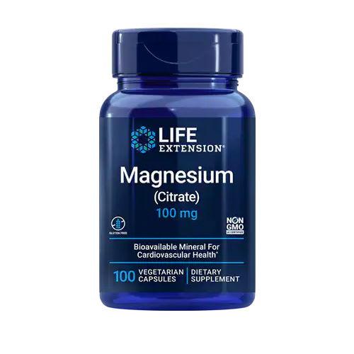 Life Extension Magnesium (Citrate) - 100 capsules