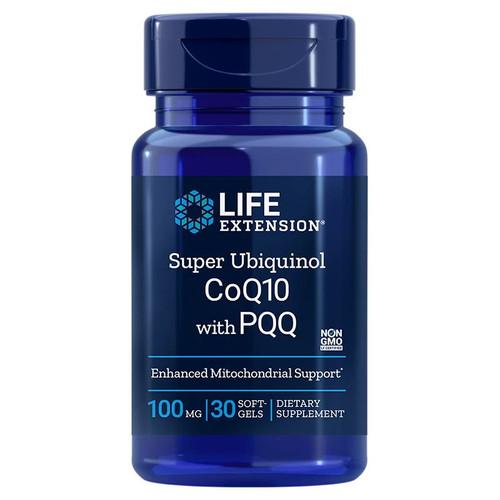 Life Extension Super Ubiquinol CoQ10 with PQQ - 30 softgels
