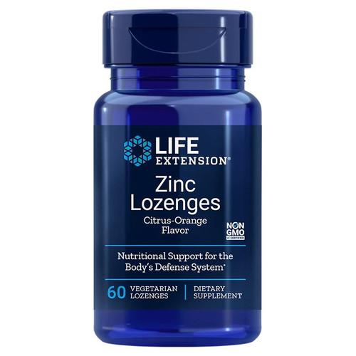 Life Extension Zinc Lozenges - 60 lozenges