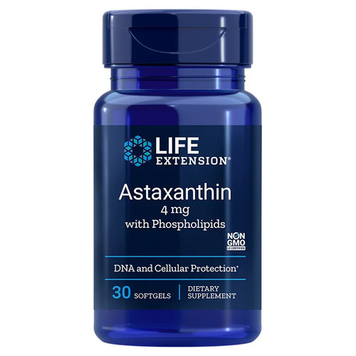 Life Extension Astaxanthin with Phospholipids - 30 softgels