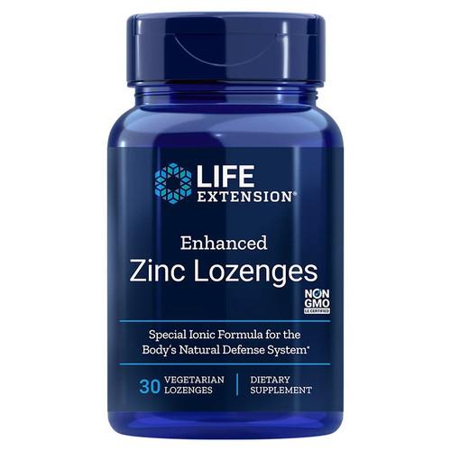 Life Extension Enhanced Zinc Lozenges - 30 lozenges