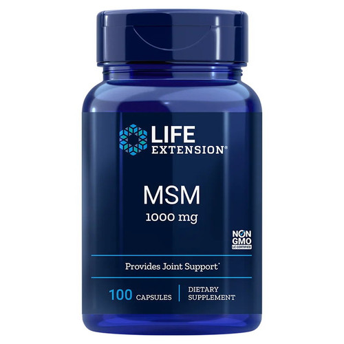 Life Extension MSM - 100 capsules