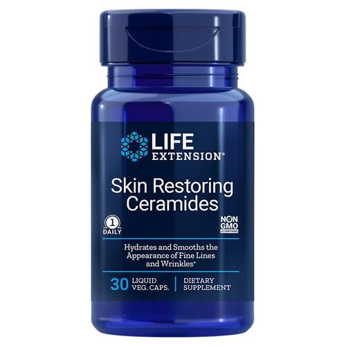 Life Extension Skin Restoring Ceramides - 30 capsules
