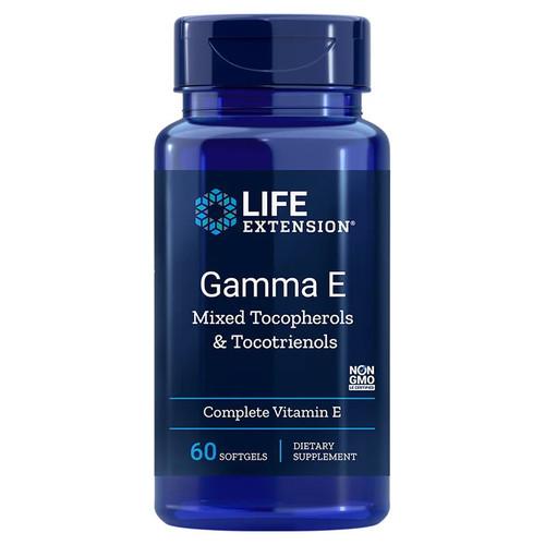 Life Extension Gamma E with Tocopherols & Tocotrienols - 60 softgels