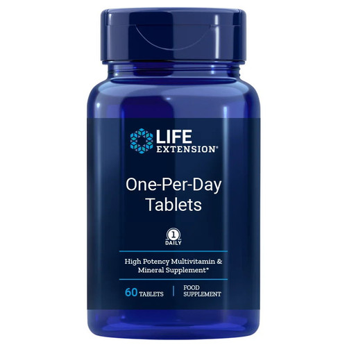 Life Extension One-Per-Day Tablets - 60 tablets