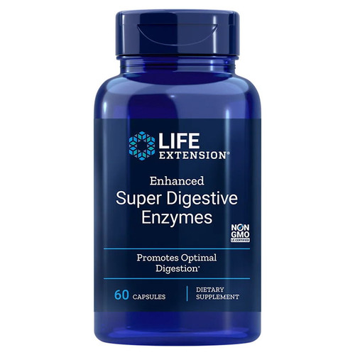 Life Extension Enhanced Super Digestive Enzymes - 60 capsules