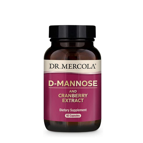 Dr Mercola D-Mannose & Cranberry Extract - 60 capsules