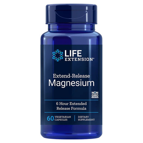 Life Extension Extended Release Magnesium - 60 capsules