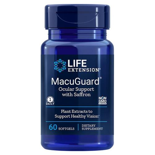 Life Extension MacuGuard Ocular Support - 60 softgels