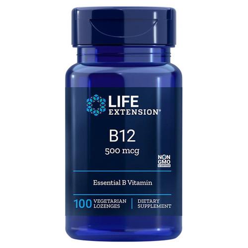 Life Extension Vitamin B12 - 100 lozenges