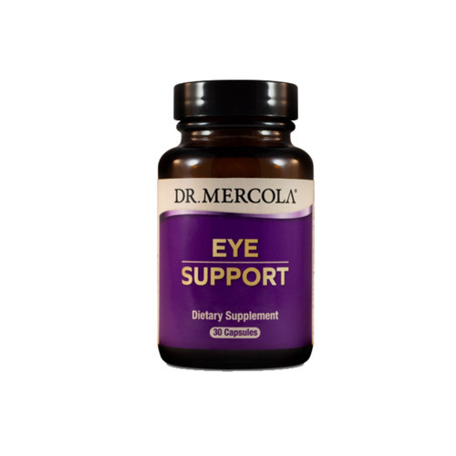 Dr Mercola Eye Support with Lutein- 30 capsules