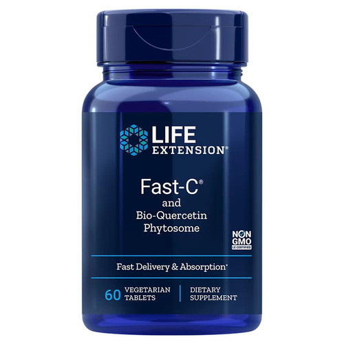 Life Extension Fast-C and Bio-Quercetin Phytosome - 60 tablets