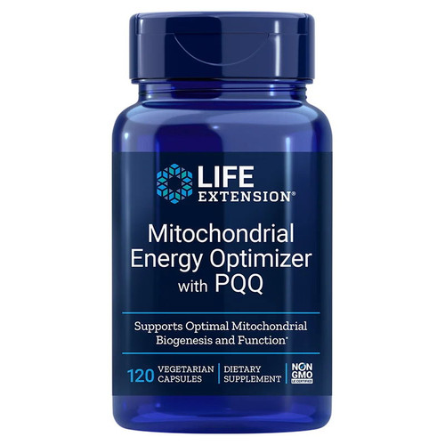 Life Extension Mitochondrial Energy Optimiser with PQQ - 120 capsules