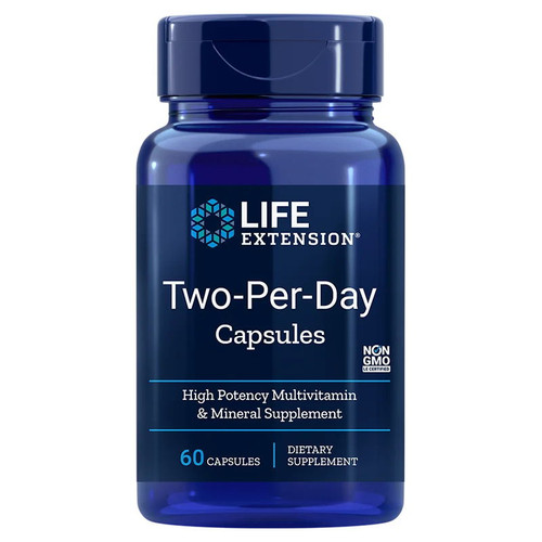 Life Extension Two-Per-Day Capsules - 60 capsules