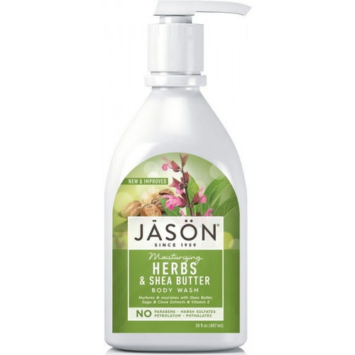 JĀSÖN Moisturising Herbal & Shea Butter Body Wash - 887ml