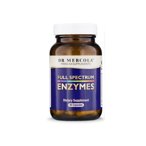 Dr Mercola Full Spectrum Enzymes - 90 capsules