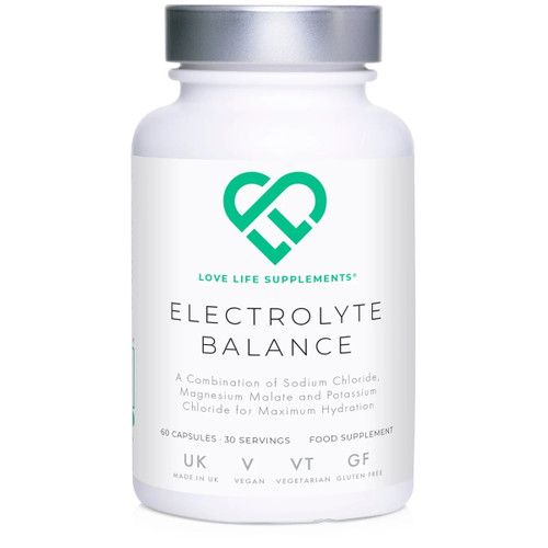 Love Life Supplements Electrolyte Balance - 60 capsules
