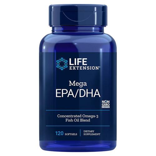 Life Extension Mega EPA/DHA - 120 softgels