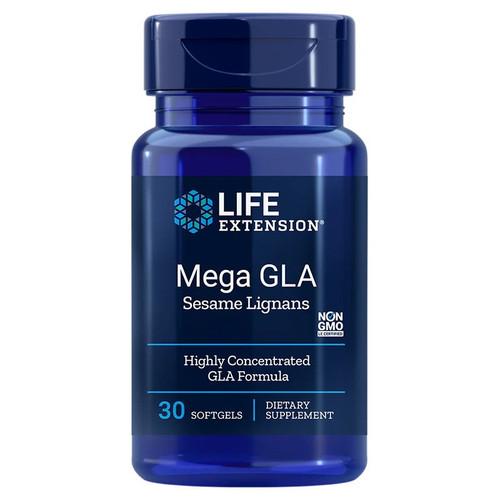 Life Extension Mega GLA with Sesame Lignans - 30 softgels
