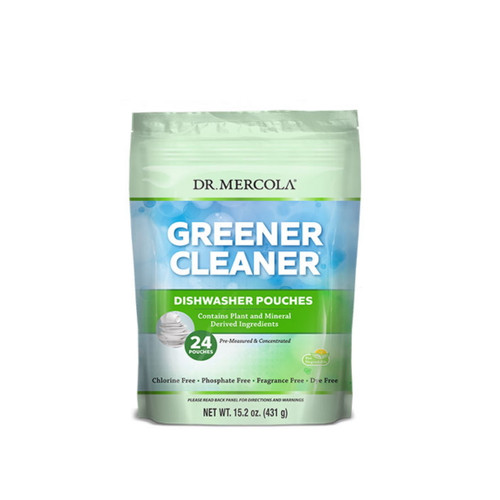 Dr Mercola Greener Cleaner Dishwasher Pouches (24)